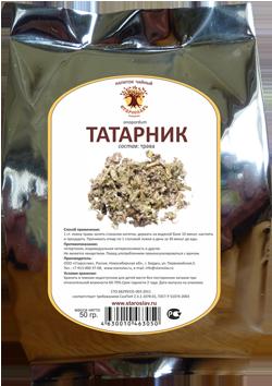 Чертополох или Татарник колючий лист и стебель 50г Алтай