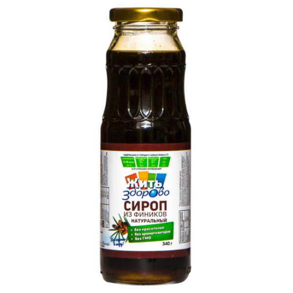 Финиковый сироп без сахара 340г