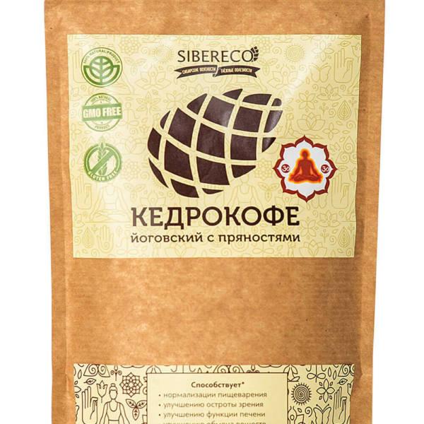 Кедрокофе Йоговский с пряностями без сахара 250г