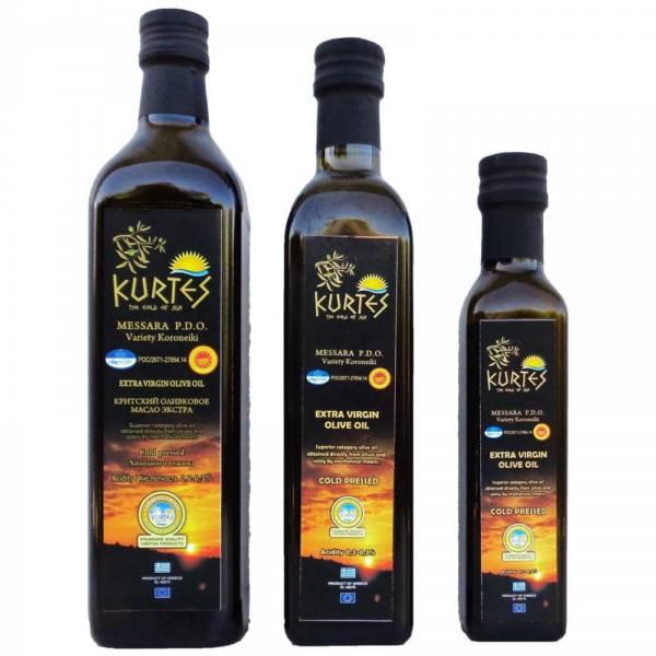 kurtes оливковое масло крит 250мл