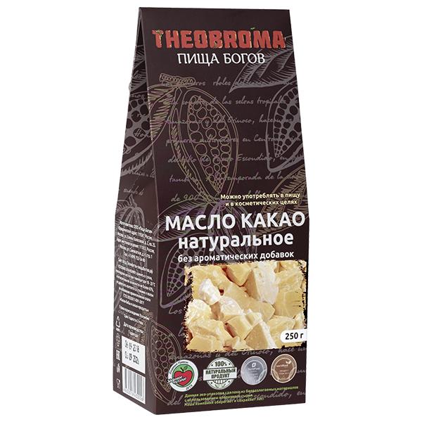 Масло какао натуральное 250г Theobroma