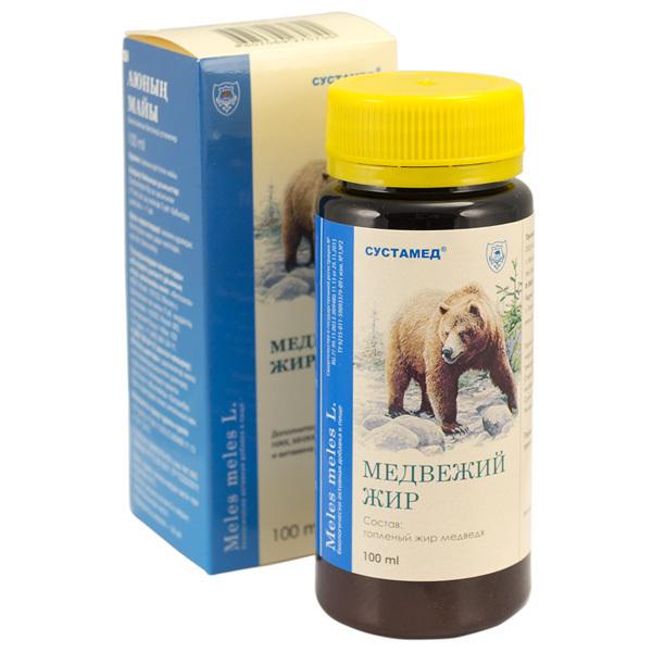медвежий жир 100 мл