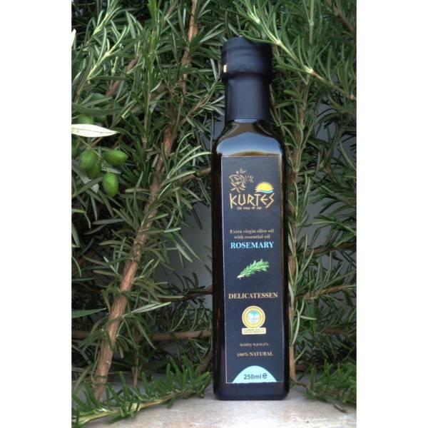 Оливковое масло Extra Virgin PDO с розмарином 250мл Крит
