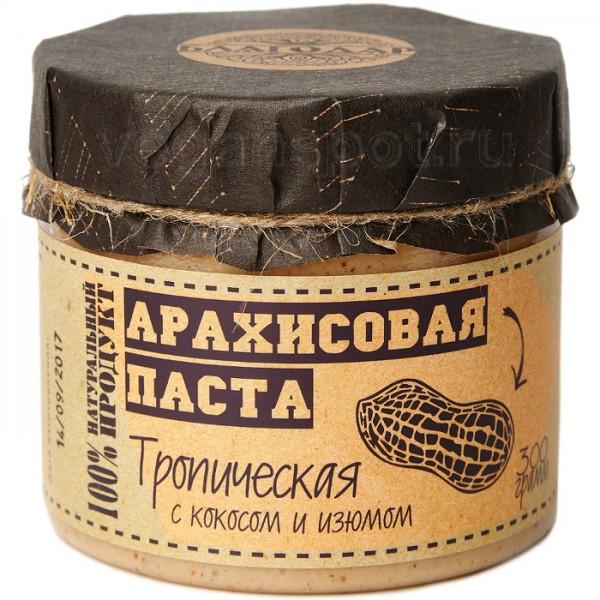 Арахисовая паста с кокосом и изюмом Благодар
