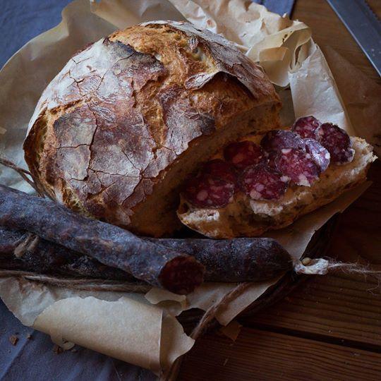 колбаса сыровяленная деревенская 2
