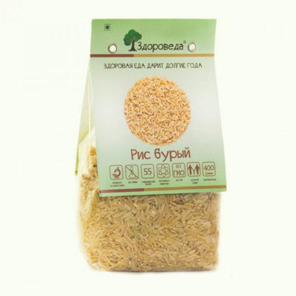 рис бурый