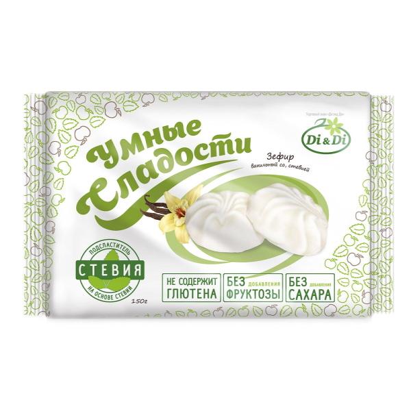 зефир ванильный без сахара на стевии