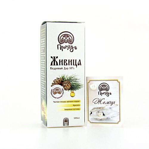 Живица кедровая 10% Сибирская чистка 100мл
