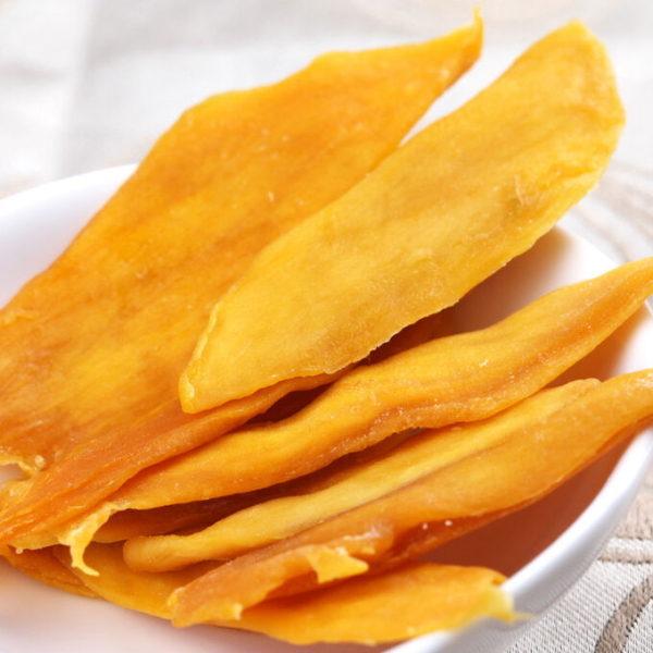 Натуральное сушеное манго без сахара