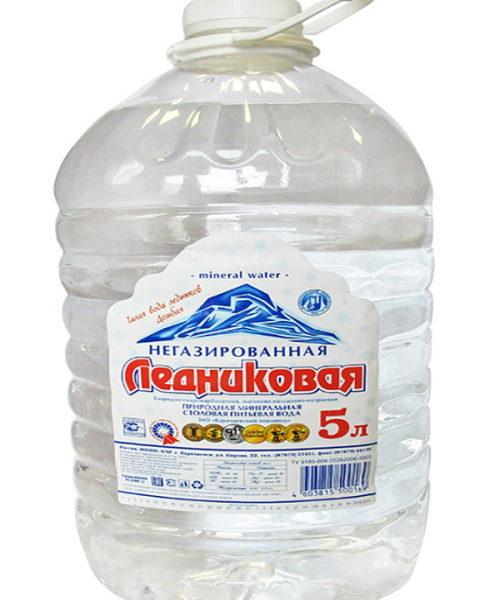 Вода минеральная питьевая Ледниковая 5л