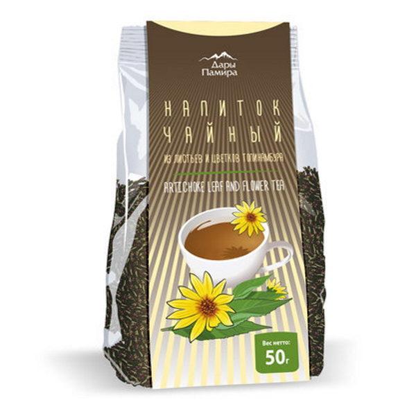 Чай из ферментированного листа и цветков топинамбура