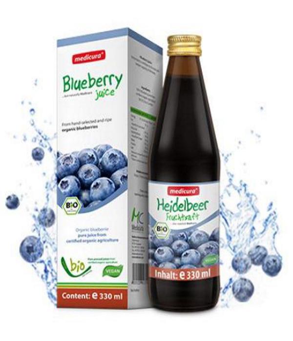 био сок черники органик