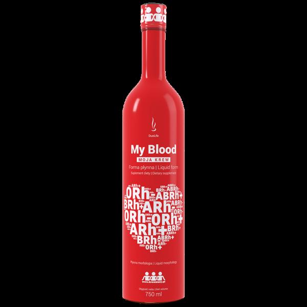 Уникальный комплекс витаминов и минералов MY BLOOD 750мл